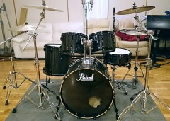 ドラムセット(Pearl Carbonply Maple CM / Cymbal SABIAN)